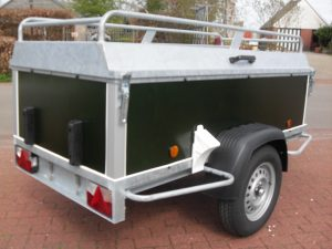 Power Trailer bagagewagen 200x100x60cm...